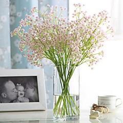 billige Kunstige blomster-Kunstige blomster 1 Gren Klassisk Singel Stilfull Pastorale Stilen Hortensiaer Brudeslør Bordblomst