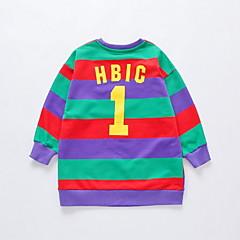 tanie Odzież dla chłopców-Dzieci Dla chłopców Jendolity kolor Długi rękaw Bluza z kapturem / bluza