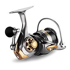 billiga Fiskerullar-Fiskerullar Snurrande hjul 7.1:1 Växlingsförhållande+6 Kullager Hand Orientering utbytbar Sjöfiske / Kastfiske / Drag-fiske