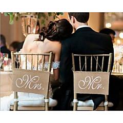 billige Bryllupsdekorasjoner-Bryllup / Engasjement Klut Denim Bryllupsdekorasjoner Strand Tema / Hage Tema / Bryllup Alle årstider