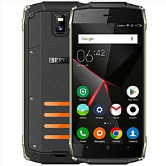 "billiga Mobiltelefoner-SERVO H6 Waterproof Phone. 5 tum "" Mobiltelefon ( 1GB + 8GB 5 mp / Ficklampa Spread SC7731C 2800 mAh mAh )"
