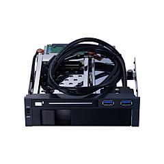 baratos Capas para Disco Rígido-Unestech Gabinete do disco rígido HDD Compatível / Instalação automática / Multifunção Aço Inoxidável / Liga de alumínio e magnésio USB 3.0 ST7221U