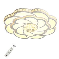 billiga Dekorativ belysning-UMEI™ Geometriskt / Originella Takmonterad Glödande Målad Finishes Metall Akryl Kristall, Ny Design 110-120V / 220-240V Varmt vit / Vit / Dimbar med fjärrkontroll LED-ljuskälla ingår / Integrerad LED