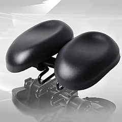 billiga Cykeldelar-Cykelsadel Cykling / Cykel PU läder / ABS / PVC Justerbara / Mjuk / Extra bred