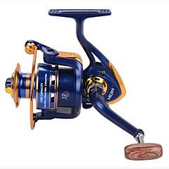 billiga Fiskerullar-Fiskerullar Snurrande hjul 12 Växlingsförhållande+12 Kullager Hand Orientering utbytbar Spinnfiske / Färskvatten Fiske / Karpfiske