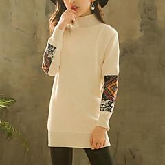 billige Sweaters og cardigans til piger-Børn Pige Patchwork Langærmet Trøje og cardigan