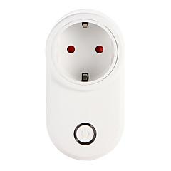 olcso Okos elektronika-weto w-t03 eu wifi intelligens dugó intelligens otthoni távirányítóval alexa google otthoni időzítő aljzat ios android