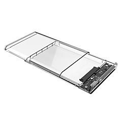 baratos Capas para Disco Rígido-Gabinete do disco rígido Fácil de transportar Plástico USB 2.0 2139U3