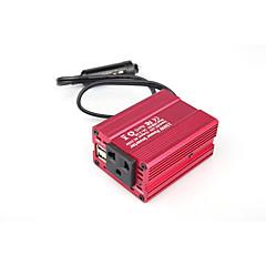 cheap Vehicle Power Inverter-Car Power Inverter DC 12V-AC 220V / DC 12V-AC 110V 110/220 V 12.5 mA 150 W For