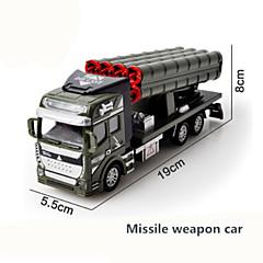 Χαμηλού Κόστους Toy Trucks & Τεχνικά Οχήματα-Στρατιωτικό όχημα Ασθενοφόρο Πυροσβεστικό όχημα Παιχνίδια φορτηγά και κατασκευαστικά οχήματα 1:48 Προσομοίωση Πλαστικά & Metal 1 pcs Παιδιά Παιχνίδια Δώρο