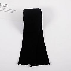 billige Undertøj og sokker til piger-Baby Unisex Vintage Ensfarvet Bomuld Undertøj og strømper Sort