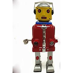 billige Originale moroleker-Trekk-opp-leker Vandring Morsom Robot 1 pcs Deler Barne Alle Leketøy Gave