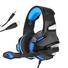 billiga Headsets och hörlurar-KOTION EACH G7500 Headband Kabel Hörlurar Hörlurar / Hörlur PP+ABS Spel Hörlur mikrofon / Med volymkontroll headset