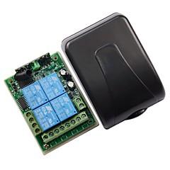 voordelige -12v 4-weg afstandsbediening metalen drukknop met vier knoppen en draadloze afstandsbediening