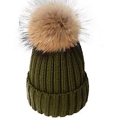 tanie Akcesoria dla dzieci-Dzieci / Brzdąc Dla dziewczynek Solidne kolory Kapelusze i czapki
