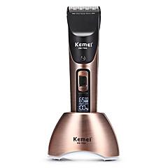 billige Barbering og hårfjerning-Kemei Hair Trimmers til Damer og Herrer 110-240 V Lav lyd / Håndholdt design / Lett og praktisk