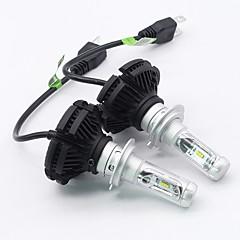 billige Tåkelys til bil-SO.K 2pcs H7 / H4 / H3 Bil Elpærer 25 W Integrert LED 6000 lm 6 LED Tåkelys / Hodelykt Til Alle år