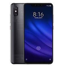 "billiga Mobiltelefoner-Xiaomi MI8 pro Global Version 6.21 tum "" 4G smarttelefon ( 8GB + 128GB 12 + 12 mp Snapdragon 845 3000 mAh mAh )"