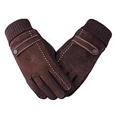 baratos Luvas de Motociclista-Dedo Total Unisexo Motos luvas Flanela Manter Quente / Anti-desgaste / Protecção