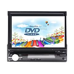 billiga DVD-spelare till bilen-7 tum 1 Din Windows CE In-Dash DVD-spelare GPS / Pekskärm / Inbyggd Bluetooth för Universell Stöd / Avtagbar panel / SD / USB-stöd / 800 x 480 / Tyska / Ryska
