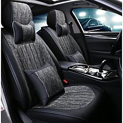billige Setetrekk til bilen-ODEER Setetrekk til bilen nakkestøtter / Midjeputer / Setetrekk Mørkegrå tekstil / PU Leather Vanlig Til Universell Alle år Alle Modeller