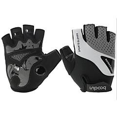 baratos Luvas de Motociclista-Meio dedo Unisexo Motos luvas Microfibra / Elastano Licra Respirável / Anti-desgaste / Antiderrapante