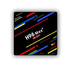 billige TV-bokser-PULIERDE H96MAX+ Tv Boks Android 8.1 Tv Boks RK3328 4GB RAM 32GB ROM Kvadro-Kjerne Nytt Design