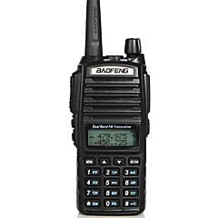 billige Walkie-talkies-BAOFENG -82 Håndholdt Nød Alarm / Programmeringskabel / Strømsparefunksjon 3-5 km 3-5 km 128 2800 mAh 5 W Walkie Talkie Toveis radio