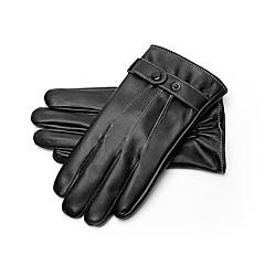 tanie Rękawiczki motocyklowe-Pełny palec Męskie Rękawice motocyklowe Flokowane Ekran dotykowy / Zatrzymujący ciepło / Non Slip