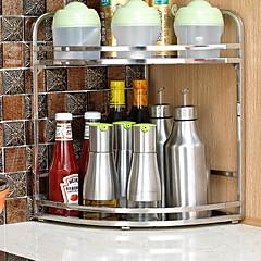 billiga Köksförvaring-Kök Organisation Ställ & Hållare Rostfritt stål Ny Design / Förvaring 1st