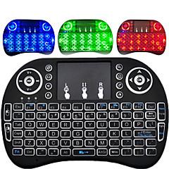 billige TV-bokser-I8 Air Mouse / Tastatur / Fjernkontroll Mini 2.4GHz Trådløst Air Mouse / Tastatur / Fjernkontroll Pico Til Android 4.0 / Android 4.1 / Android 4.2