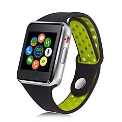 tanie Inteligentne zegarki-JSBP M3 Inteligentny zegarek Android Bluetooth 2G Smart Wodoodporny Ekran dotykowy Odbieranie bez użycia rąk Informacje Stoper Krokomierz Powiadamianie o połączeniu telefonicznym Rejestrator