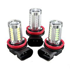 billige Tåkelys til bil-1 Deler H8 Bil Elpærer SMD 5630 660 lm 33 LED Tåkelys / Blinklys Til Universell / Volkswagen / Toyota Alle Modeller Alle år
