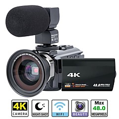 cheap -QQT P13 16 mp 1920 x 1080 Pixel Removable / Party / Hot Sale 1080P / 60fps / 120fps 8x -4/3 4.1 inch 16.0MP CMOS 64 GB H.264 English / Simplified Chinese / Multi-language Single Shot / Burst Mode