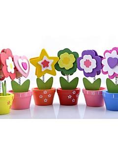 preiswerte Spezial Angebote-Blume Holz PlatzKartenhalter Klammer Poly Tasche 6
