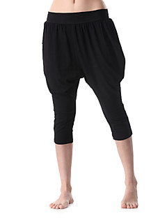 Mulheres Calças de Corrida Calças para Ioga Exercício e Atividade Física Esportes Relaxantes Corrida Elastano Algodão Nailom Eco algodão