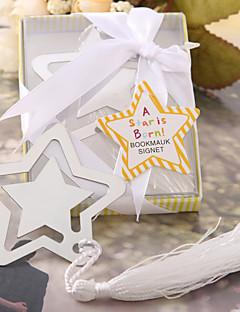 olcso Babaváró buli köszönetajándékok-Esküvő Lánybúcsú Újszülöttköszöntő Rozsdamentes acél Könyvjelzők és levélbontók Kerti témák