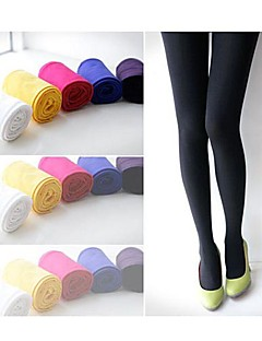 Colorful Fleece Leggings(A Pairs/Set) Candy color. Render pants