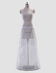 Wedding Special Occasion Slips Polyester Floor-length A-Line Slip With