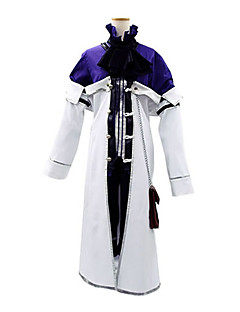 cheap Anime Costumes-Inspired by Pandora Hearts Xarxes Break Anime Cosplay Costumes Cosplay Suits Patchwork Long Sleeves Cravat Coat Shirt Shorts For Men's