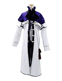 """billige Anime Kostymer-Inspirert av Pandora Hjerter Xarxes Break Anime  """"Cosplay-kostymer"""" Cosplay Klær Lapper Langermet Halsklut / Frakk / Trøye Til Herre"""