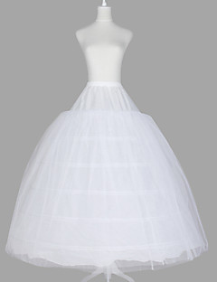 Wedding Special Occasion Slips Tulle Netting Organza Taffeta Floor-length Ball Gown Slip With