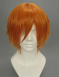 billiga Anime/Cosplay-peruker-Cosplay Peruker Svart Butler Puppet Master Animé Cosplay-peruker 32 CM Värmebeständigt Fiber Herr