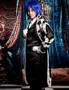 """billige Videospill cosplay-Inspirert av Vokaloid Kaito video Spill  """"Cosplay-kostymer"""" Cosplay Klær Lapper Langermet Halsklut Frakk Vest Trøye Bukser Hansker"""