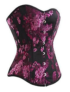 billiga Lolitamode-Korsett Gotisk Lolita Lolita Vanlig Dam Geometrisk Lolita Polyester / Bomull Blandning Satin Kostymer