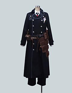 """billige Anime Kostymer-Inspirert av Blå Eksorsist Yukio Okumura Anime  """"Cosplay-kostymer"""" Cosplay Klær Ensfarget Langermet Frakk Trøye Bukser Til Mann"""