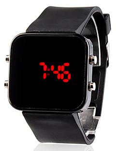 Pánské Náramkové hodinky Digitální LED Kalendář Silikon Kapela Černá Černá