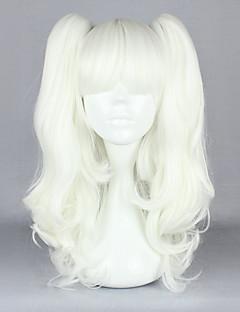 billiga Lolitaperuker-Lolita-peruker Gotisk Lolita Silver Lolita Lolita-peruker 18 tum Cosplay-peruker Enfärgad Peruk halloween Peruker