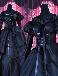 """billige Anime cosplay-Inspirert av Kode Gease C.C. Anime  """"Cosplay-kostymer"""" Cosplay Klær Lapper Kjole Til Unisex"""