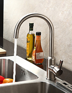 Contemporary  with  Brushed Single Handle One Hole  ,  Feature  for Centerset